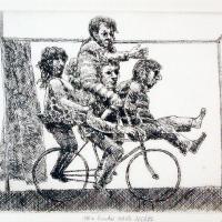 Afbeelding van het kunstwerk 'van links naar rechts' van Gradus Verhaaf