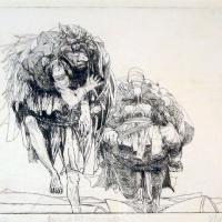 Afbeelding van het kunstwerk 'kun je het nog volhouden??' van Gradus Verhaaf
