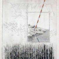 Afbeelding van het kunstwerk 'de ontmoeting' van Jan Braamhorst