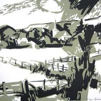 Afbeelding van het kunstwerk 'gezicht op Ellecom' van Jean Pécasse
