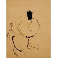 Afbeelding van het kunstwerk 'vogelstudie '48-'51' van Johan de Haas