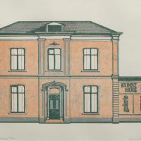 Afbeelding van het kunstwerk 'Kunsthuis 13' van Hans Kautz