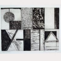 Afbeelding van het kunstwerk 'zonder titel' van P. Damsté