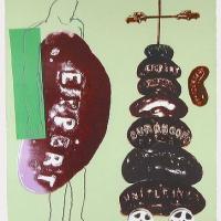 Afbeelding van het kunstwerk 'zonder titel' van E.de Vaal
