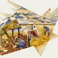 Afbeelding van het kunstwerk 'mozaïk' van Johan Mekkink