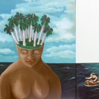 Afbeelding van het kunstwerk 'Terug naar mijn zelf' van Yaquelin Abdallà