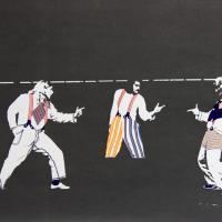 Afbeelding van het kunstwerk 'kostuum ontwerpen' van Catrien van Ommen