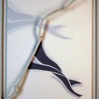 Afbeelding van het kunstwerk 'variaties op een tak / schaduw' van Cor Stoel