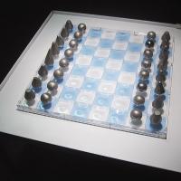 Afbeelding van het kunstwerk 'schaakspel' van Ans Ligtelijn-Meeles