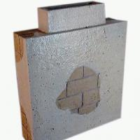 Afbeelding van het kunstwerk 'muurblok' van Henk Karman