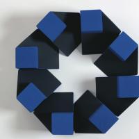 Afbeelding van het kunstwerk '8 architectonische schakels' van Let de Kok