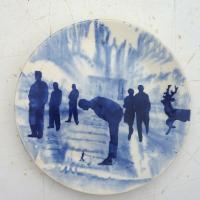 Afbeelding van het kunstwerk 'The Blues - 6 personen' van Roland Sips
