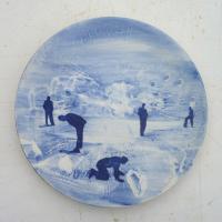 Afbeelding van het kunstwerk 'The Blues - 5 personen' van Roland Sips