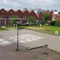 Afbeelding van het kunstwerk 'Guus Dijkhuizenplein' van Gerrit van Middelkoop