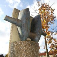Afbeelding van het kunstwerk 'Krukas' van Henk Göbel