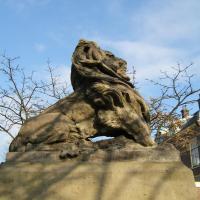 Afbeelding van het kunstwerk 'Rhedense Leeuw' van August Falize