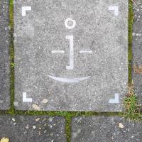 Afbeelding van het kunstwerk 'Stoeptegel' van Gerrit van Middelkoop